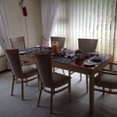 Dining area, One One Guest House