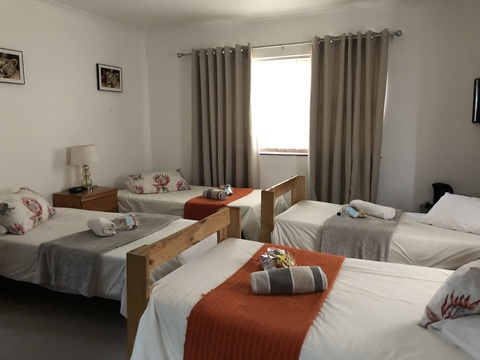Group bookings when needed to sharing accommodation.